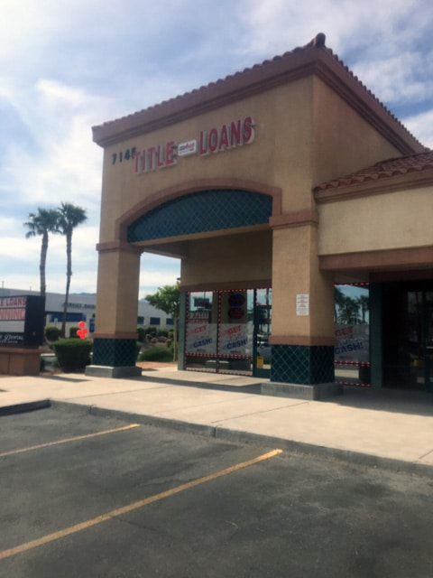 USA Money Today Title Loans North Las Vegas location exterior picture