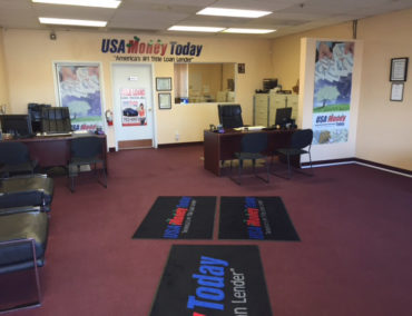 USA Money Today Title Loan Store in West Las Vegas inside picture 2