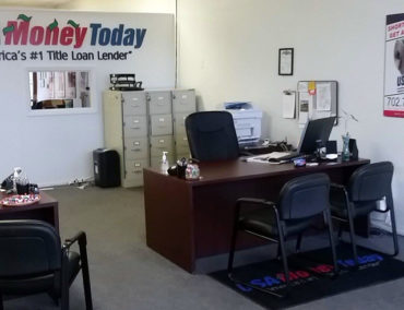 USA Money Today Title Loans East Las Vegas location interior picture 2