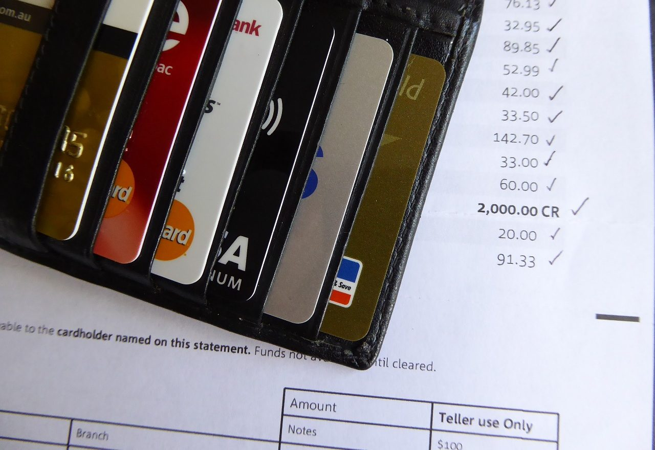 credit card bills