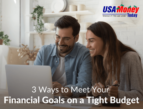 3 Ways to Meet Your Financial Goals on a Tight Budget